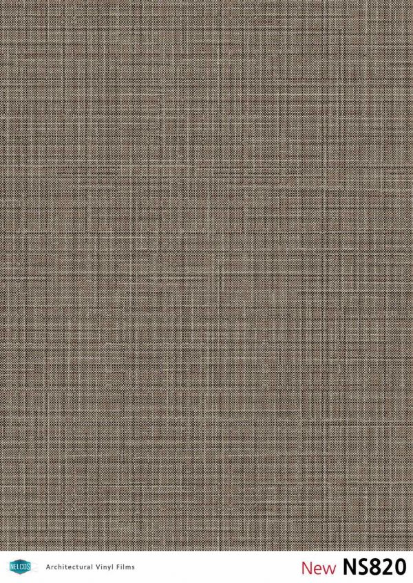 Nelcos NS820 Metallic Fabric Architectural Film - Fabric Collection