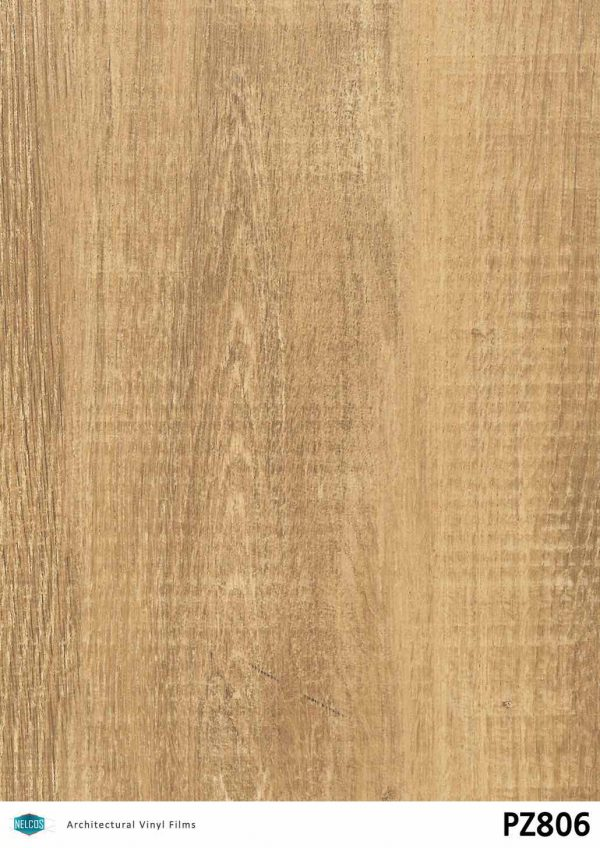 Nelcos PZ806 Oak Architectural Film - Wood Collection