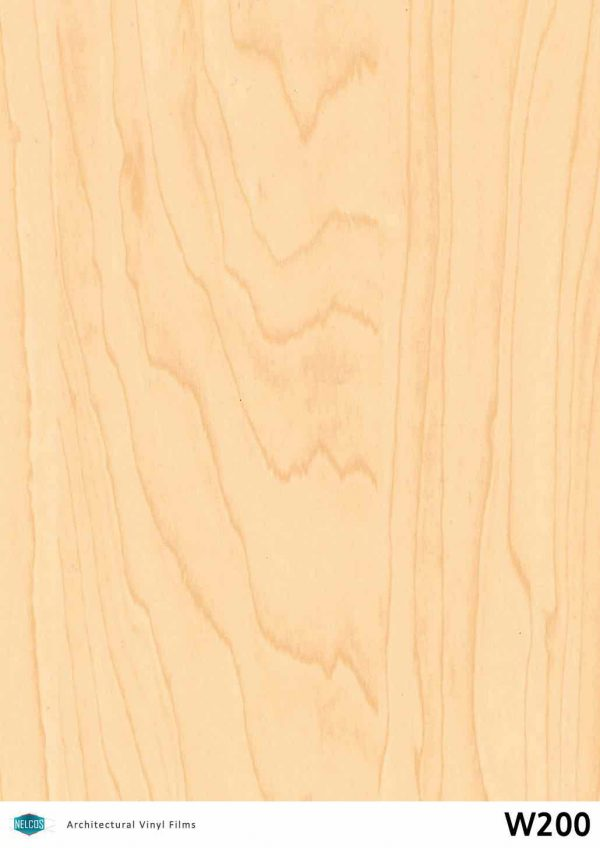 Nelcos W200 Maple Architectural Film - Wood Collection
