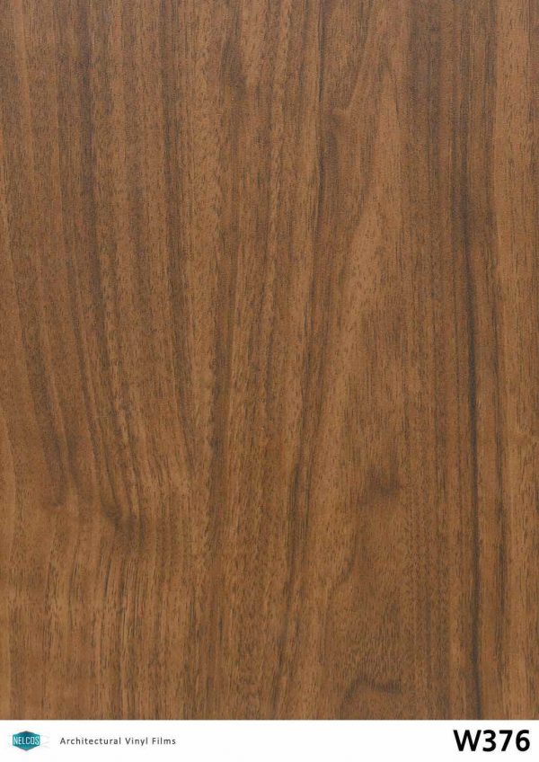 Nelcos W376 Walnut Architectural Film - Wood Collection