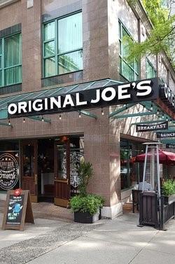 Original Joe's Restaurant, Vancouver