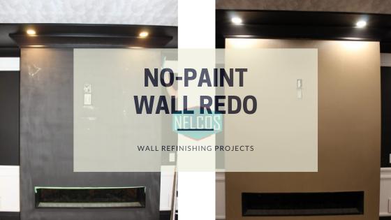 No-paint wall renovation