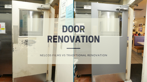 Door Renovation | Film Renovation vs Traditional Approach