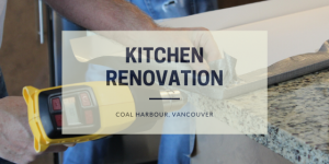 Kitchen renovation in Coal Harbour, Vancouver