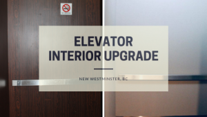 Elevator Interior renovation, New Westminster, BC