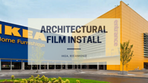 Architetural film installation at IKEA, Richmond