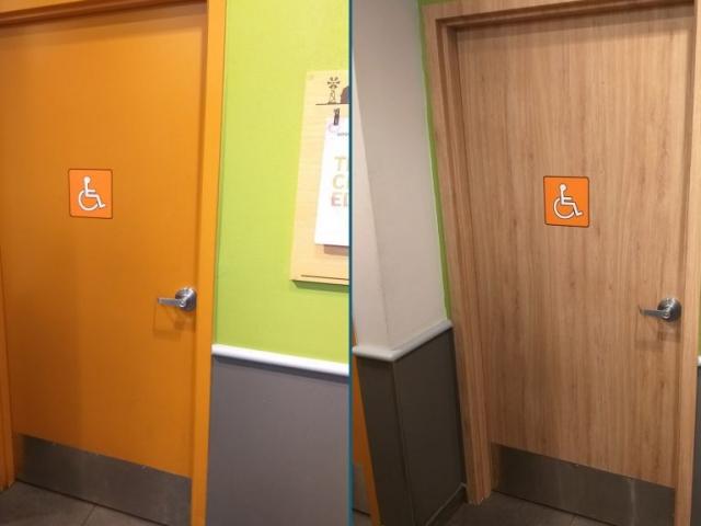 Door Renovation BEFORE-AFTER