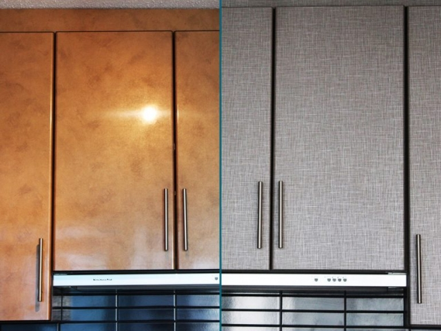 Kitchen Cabinet Renovation BEFORE-AFTER