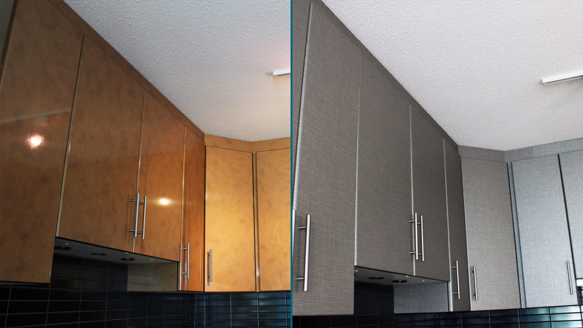 Kitchen Cabinets Renovation BEFORE-AFTER