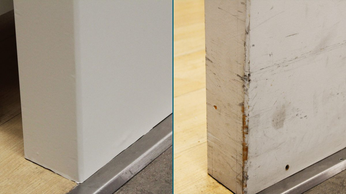 Wall Renovation BEFORE-AFTER
