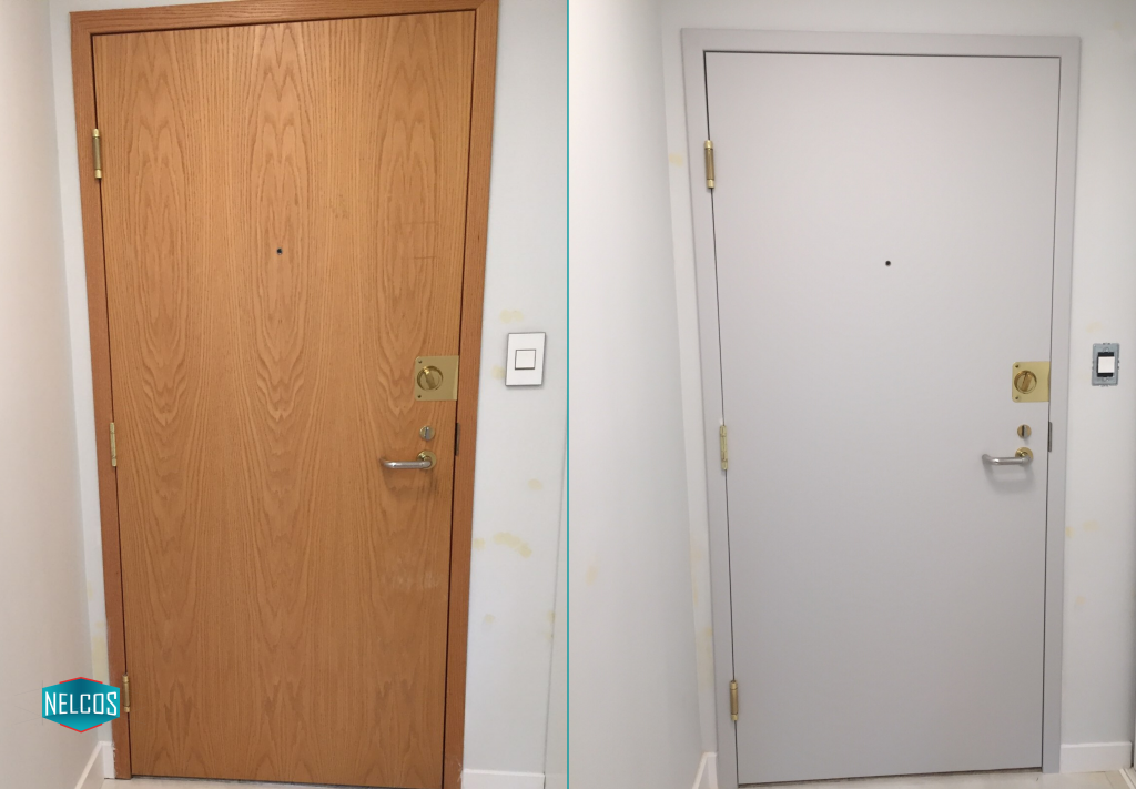 Door Renovation Before-After