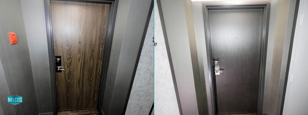 Door Renovation Before-After | residential renovation