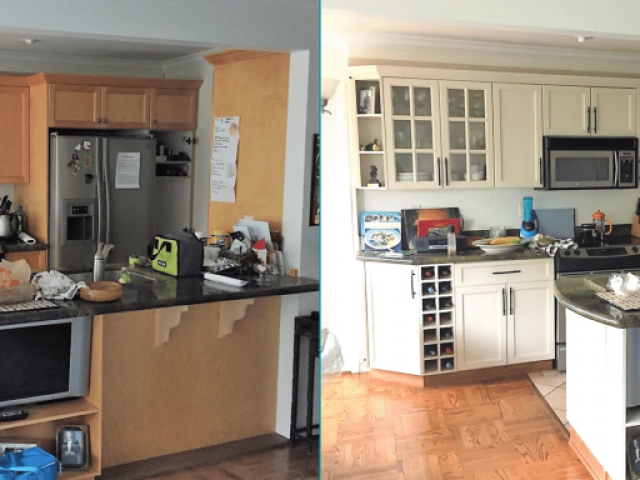 Kitchen Renovation Before-After