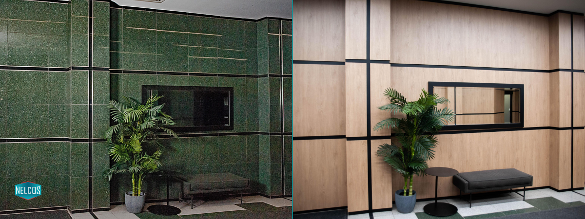 Lobby Renovation Before-After