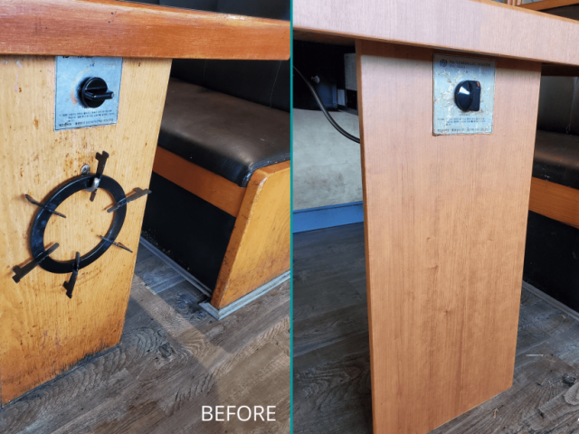 Hanwoori Restaurant Upgrade BEFORE and AFTER