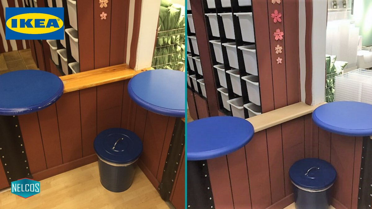 IEKA Play Area Renovation BEFORE - AFTER