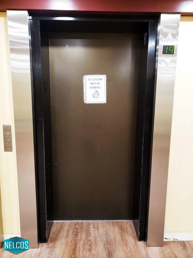 Elevator door renovation