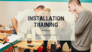 installation training | January 2020, Nelcos