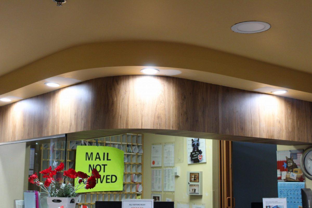 Lobby Renovation in Seton Villa