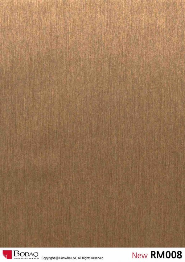 Nelcos RM008 Real Metal Interior Film - Metal Collection
