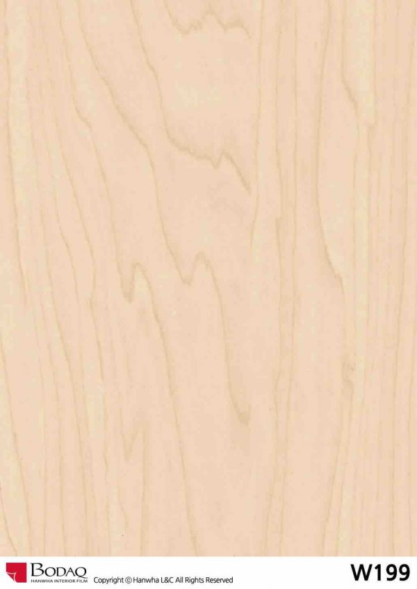 Nelcos W199 Maple Interior Film - Standard Wood Collection