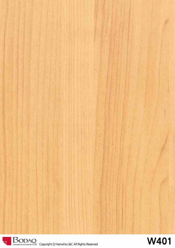 Nelcos W401 Maple Interior Film - Standard Wood Collection