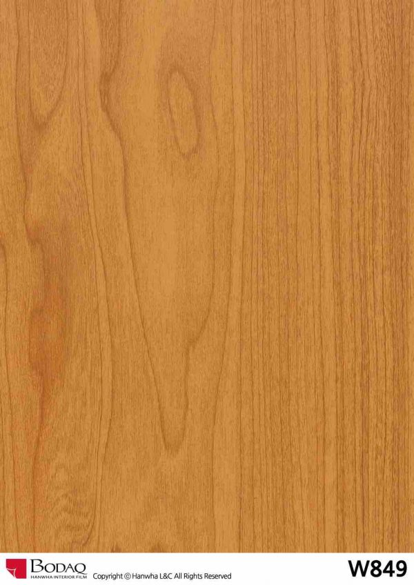 Nelcos W849 Maple Interior Film - Standard Wood Collection