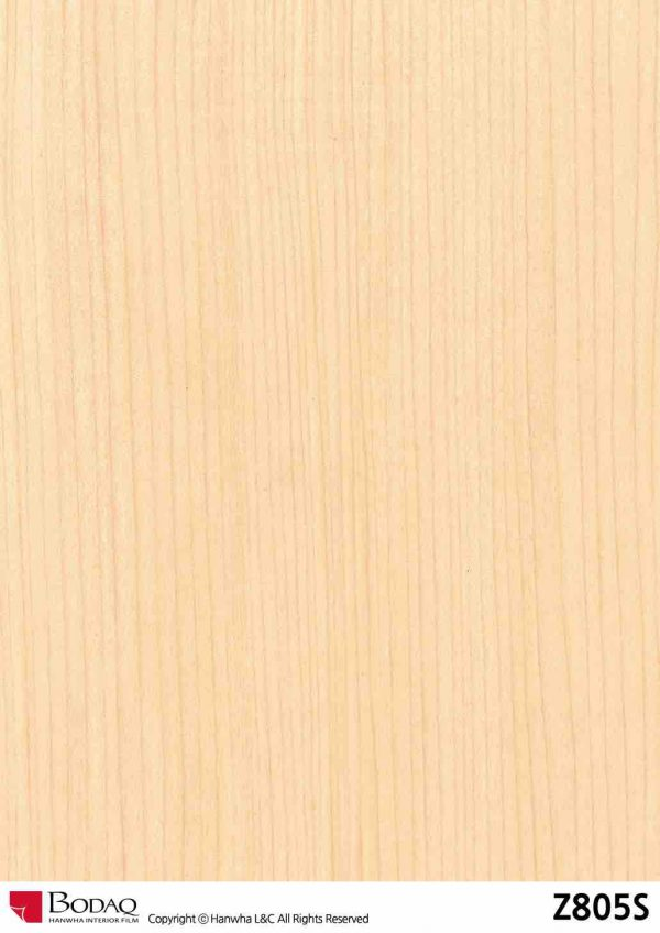 Nelcos Z805S Maple Interior Film - Rich Wood Collection