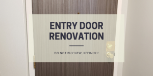 Apartment Entry Door Renovation
