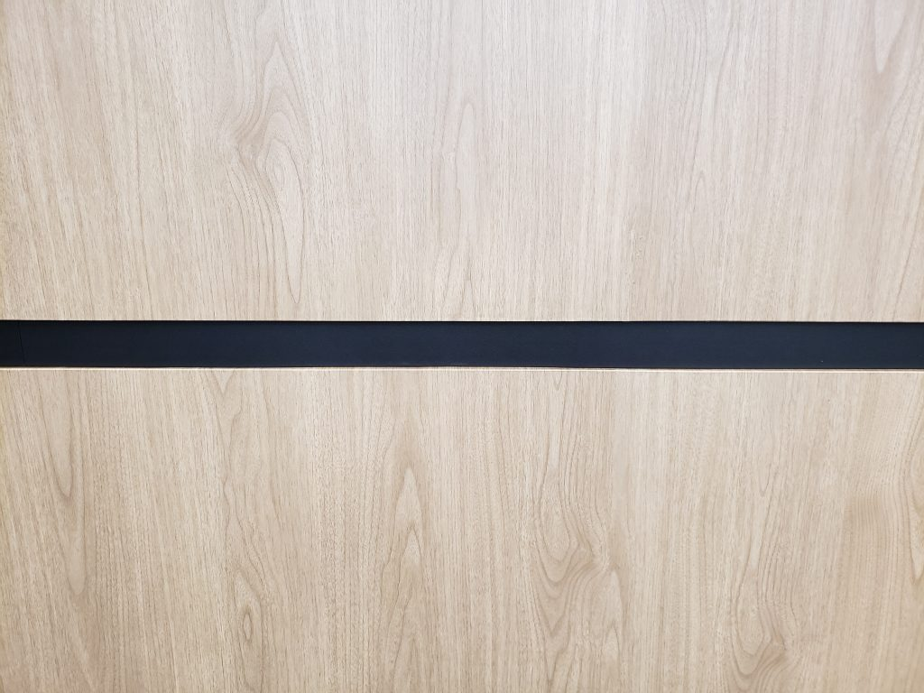 Lobby upgrade. XP118 and S140 vinyl film patterns