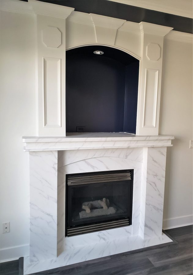Renew it all - fireplace after refinish
