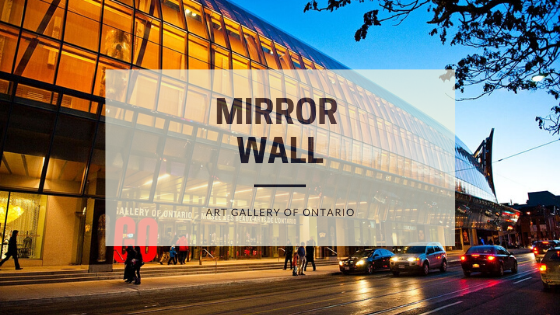 Mirror Wall | Nelcos installed mirror film at Art Gallery of Ontario