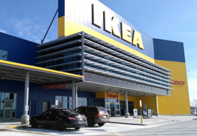 Renovations at IKEA Vaughan