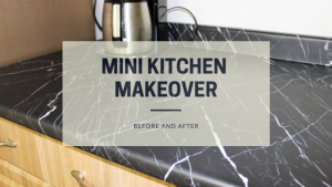 Mini Kitchen Makeover | Before and After
