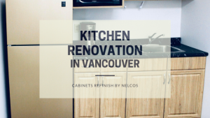 Kitchen Renovation | Cabinets Refinish | Vancouver