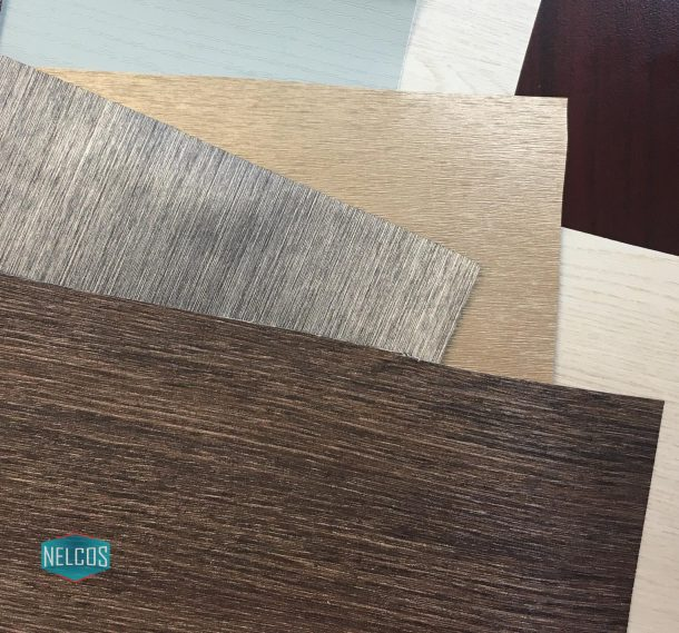 Samples of the architectural film from Nelcos