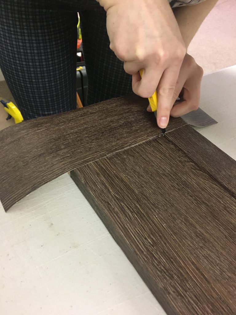 Cutting the corners