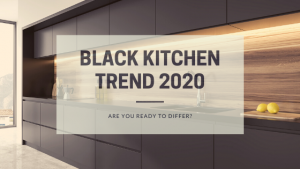 Black Kitchen Trend 2020