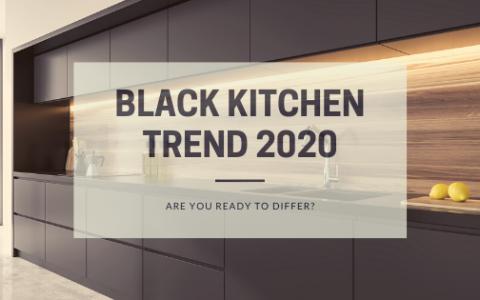 Black Kitchen Trend 2020