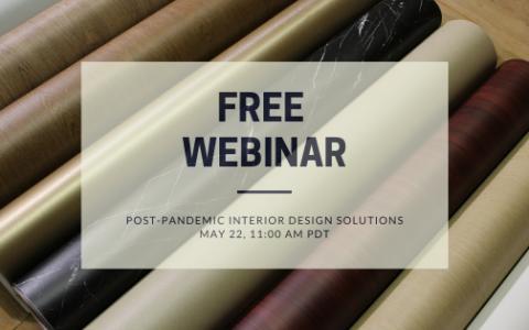 Webinar | Post-Pandemic Interior Design Solutions