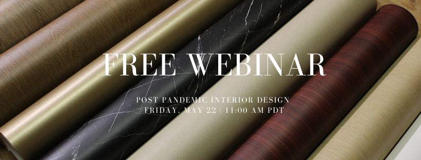 Webinar | Post Pandemic Interior Design Solutions