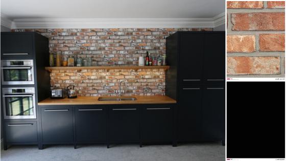 industrial look - black kitchen trend 2020