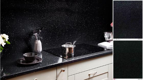 splashes in black kitchen trends 2020