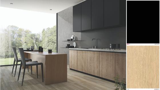 Modern look - black kitchen trend