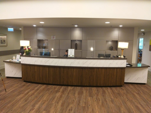 Lobby Renovation - After