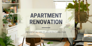 Apartment renovation with Nelcos architectural vinyl film