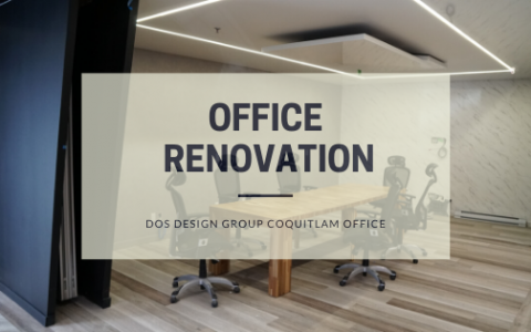 Office Renovation for DOS Design Group | Nelcos Architectural Film Installation