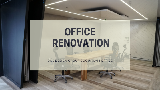 Office Renovation for DOS Design Group   Nelcos Architectural Film Installation