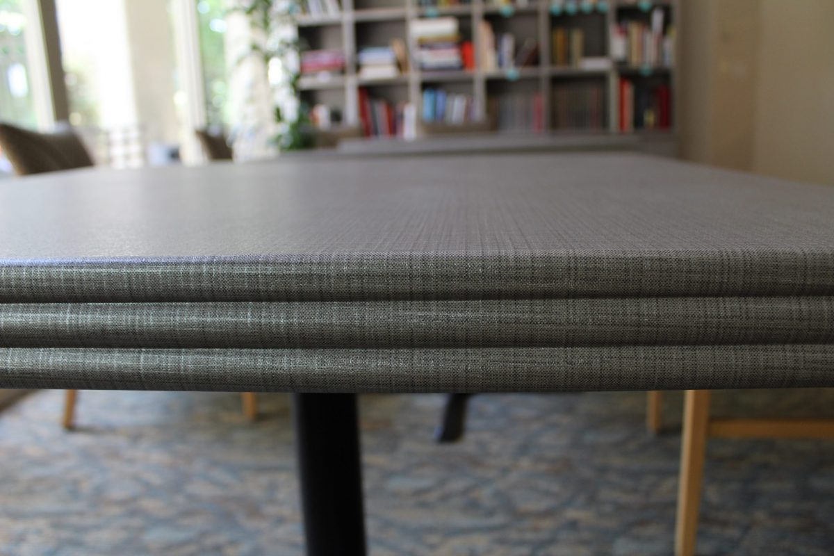 Dining Room Tables Close Up - After | Tapestry Arbutus Walk