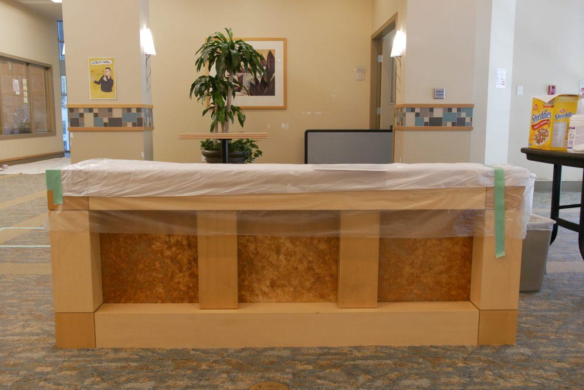 Lobby Renovation - Before | Tapestry Arbutus Walk